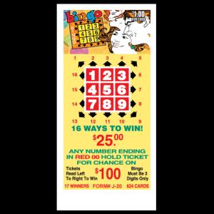 $1.00 Bingo / J-20 Card