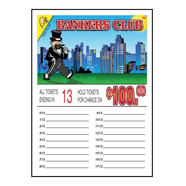 Bankers Club / J-13NLS Seal Card