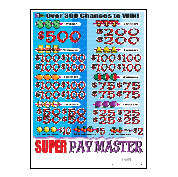 Super Pay Master / J-PM4662 Flare Card