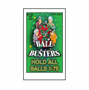 Ball Buster / J-BB75 Card