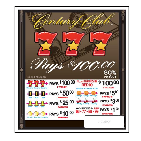 Century Club / J-CL690 / J-CL-690NLS Flare Card