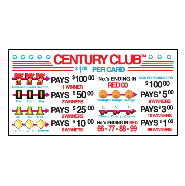 Century Club J-CL690 Card