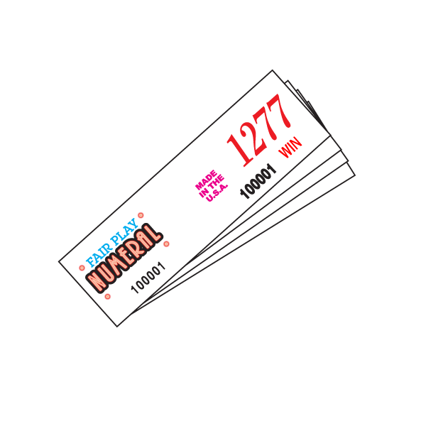1500 Numeral – 4 Stapled