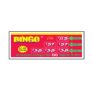 Bingo Real Deal / J-144 Card