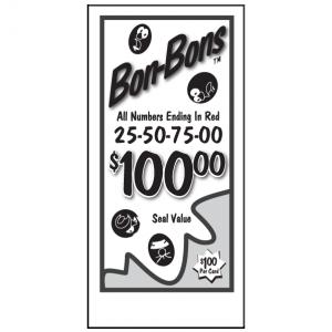 $1.00 Bon Bons J-14AJ Card