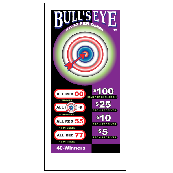 Bull's Eye / J-BE672 Card