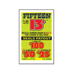 Fifteen 13's / J-FT150 Card