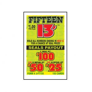 Fifteen 13's / J-FT150 Card
