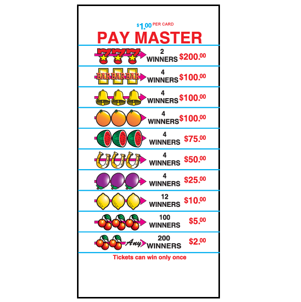 Pay Master / J-PM3990 / JPM4684 Cards