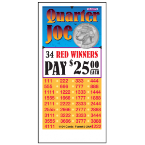 Quarter Joe / J-24A Card