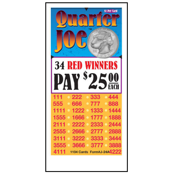 Quarter Joe / J-24A Card