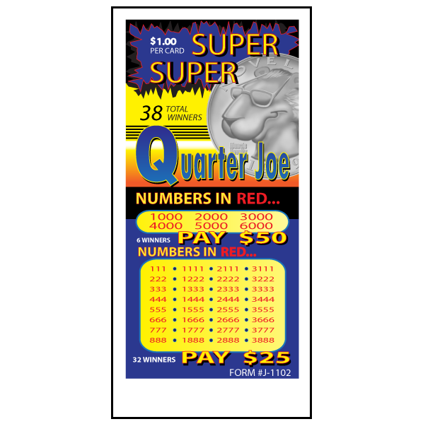 Super Super Quarter Joe / J-1102 Card