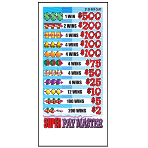 Super Pay Master / J-PM4662 Card