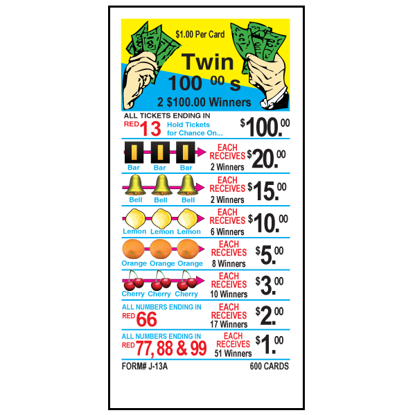 Twin 100's / J-13A Card