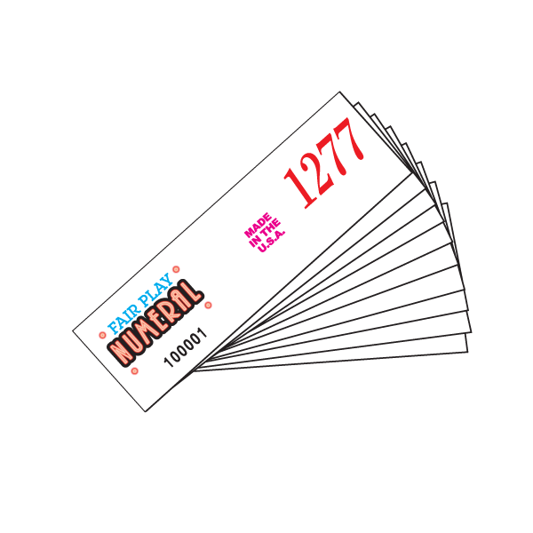 3300 Numeral 310-002 - 10 Stapled