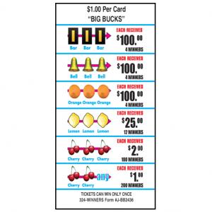 Big Bucks / J-BB2436 Card