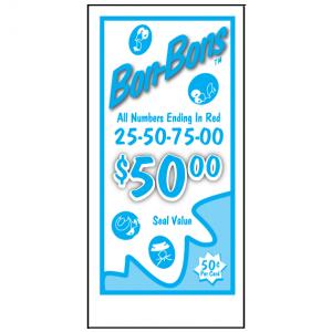 50¢ Bon Bons J-14AI Card
