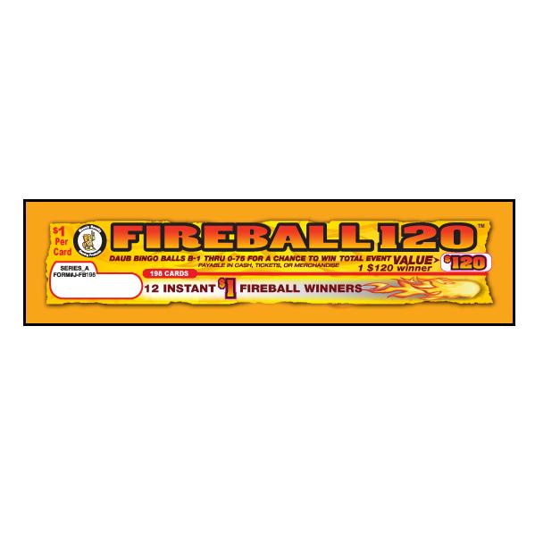 Fireball120 / J-FB75 Card