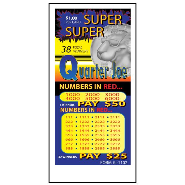 Super Super Quarter Joe / J-1102 Card