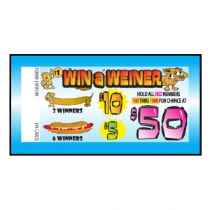 Win A Wieiner / J-WW144 Card
