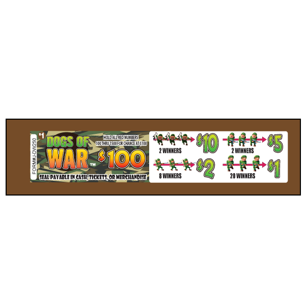 Dogs Of War / J-DW250 Card