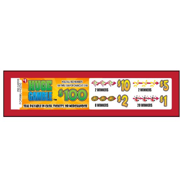 Huge Gamble / J-HG250 Card