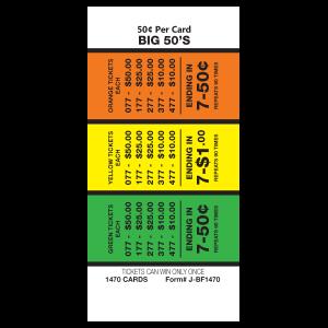 Big 50 J-BF1470 Card