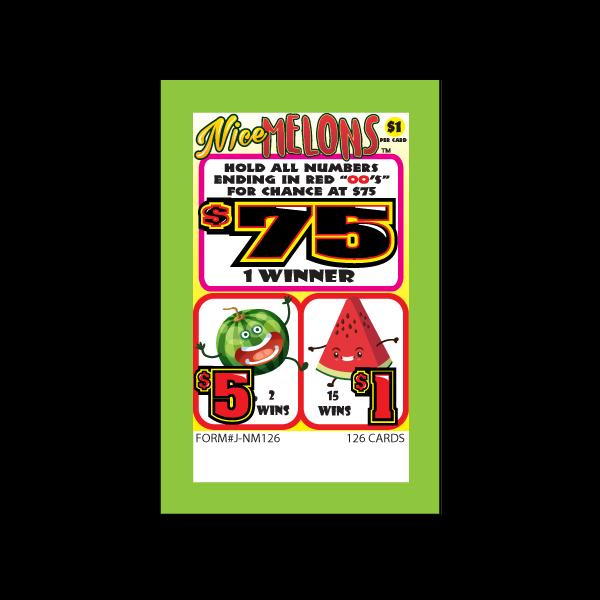 Nice Melons J-NM126 Card