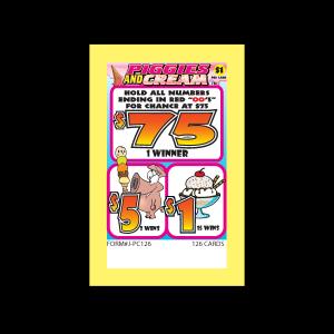 Piggies And Cream J-PC126 Card