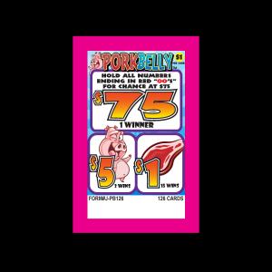 Pork Belly J-PB126 Card